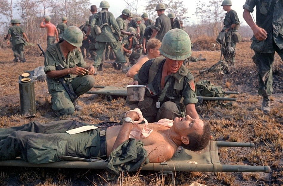 the hardships facing vietnam war soldiers in - the hardships facing vietnam war soldiers in tim o'brien's going after cacciato and in the lake of the woods the vietnam war was, mentally and physically, one of the most brutal the united states has ever participated in.