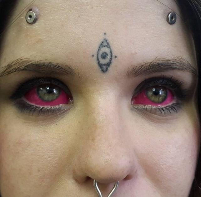 Татуированный глаз