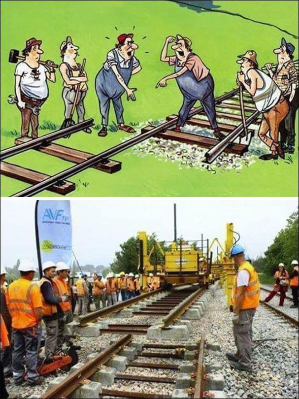 Поздравления, картинки железная дорога с приколами