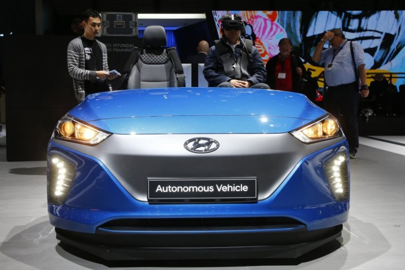 Hyundai Autonomous Vehicle