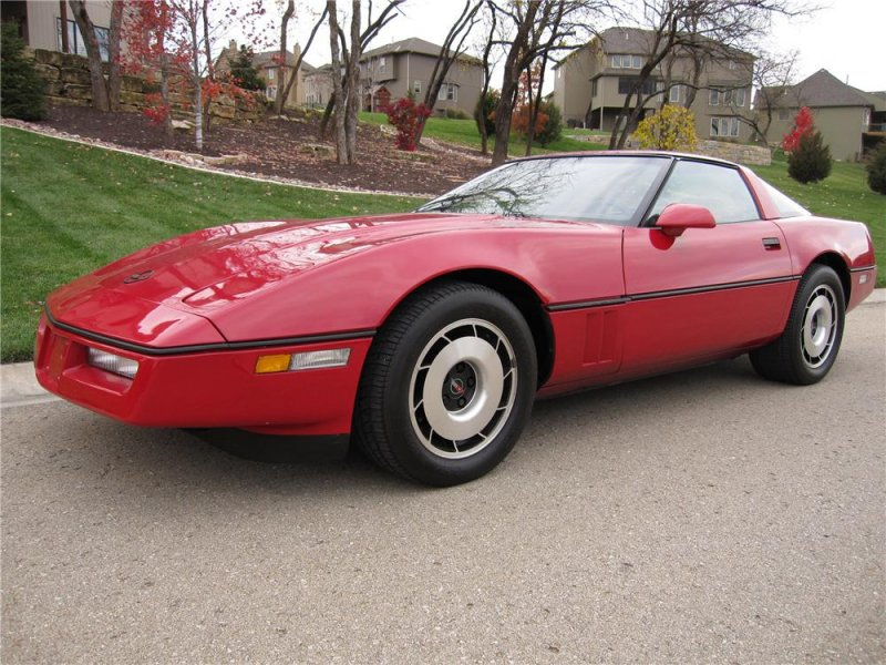 1984 Chevy Corvette американские авто, масл-кар, мускул-кар