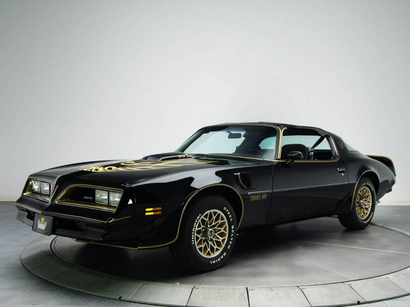 1978 Pontiac Firebird Trans Am американские авто, масл-кар, мускул-кар
