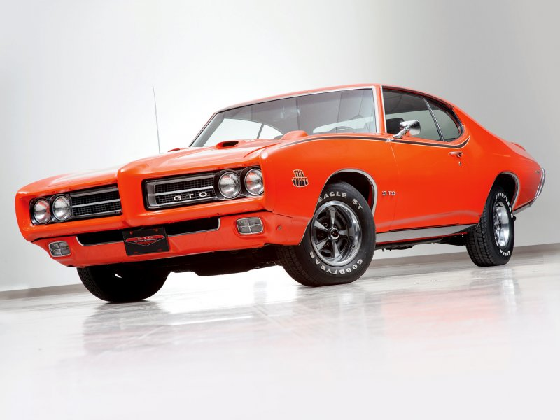 1969 Pontiac GTO Judge американские авто, масл-кар, мускул-кар