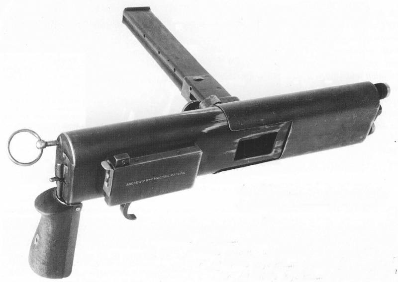Пистолет пулемет Andrews Machine Carbine (Австралия / Великобритания)