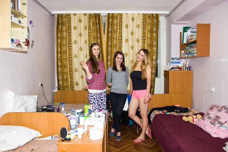 студентки красавицы в общежитии тоже