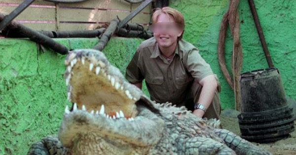 Секс с крокодилом