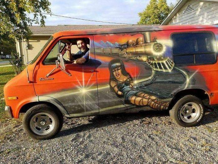 Авто юмор рисованные картинки