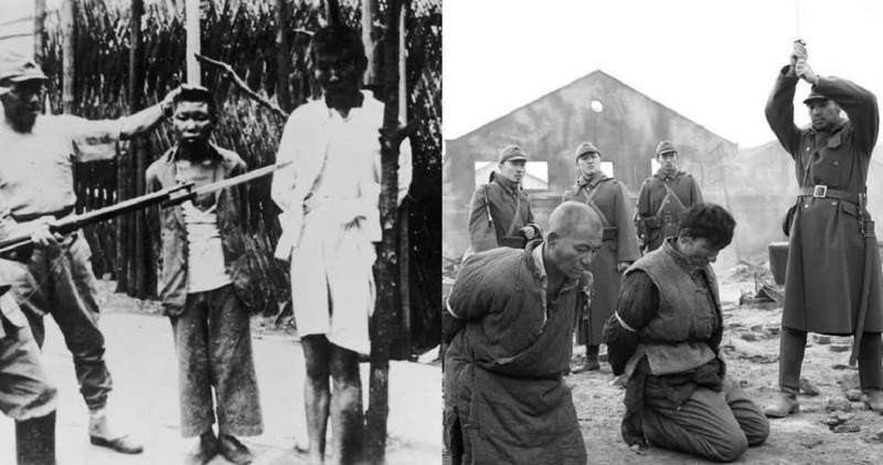 Японские пытки и износилование