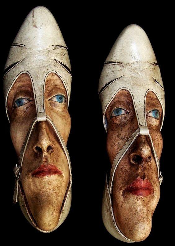 Gwen Murphy art, Скульптуры, искусство, сумасшествие