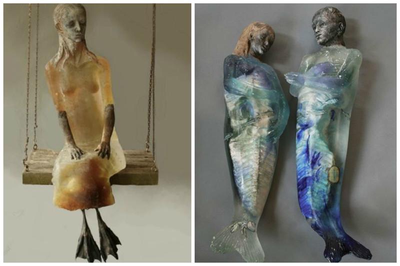 Christina Bothwell art, Скульптуры, искусство, сумасшествие
