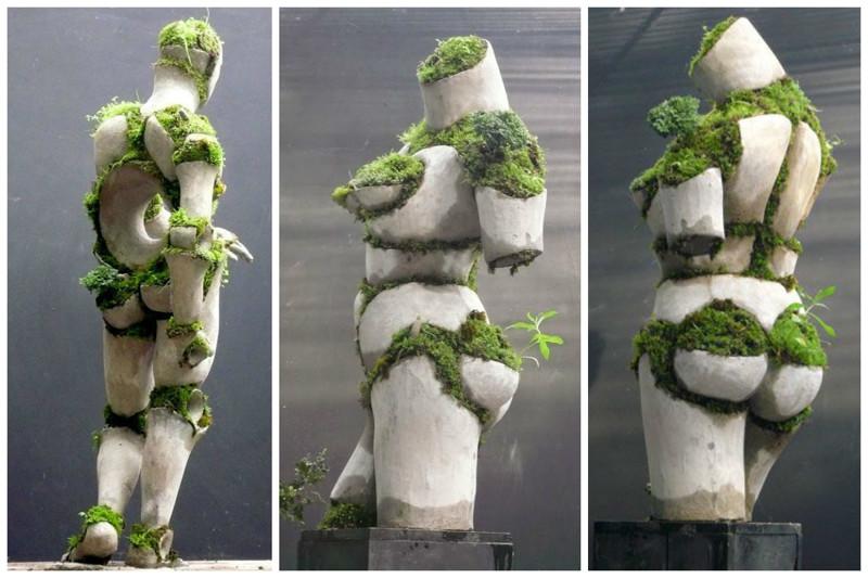 Robert Cannon art, Скульптуры, искусство, сумасшествие