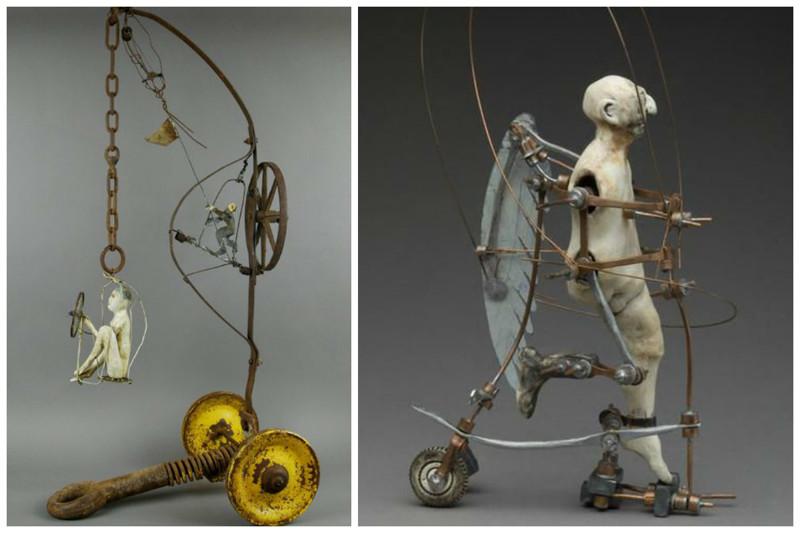 Aggie Zed  art, Скульптуры, искусство, сумасшествие