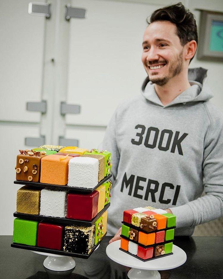 Торт Кубик Рубика, МК - У самовара - Украшение тортов 8