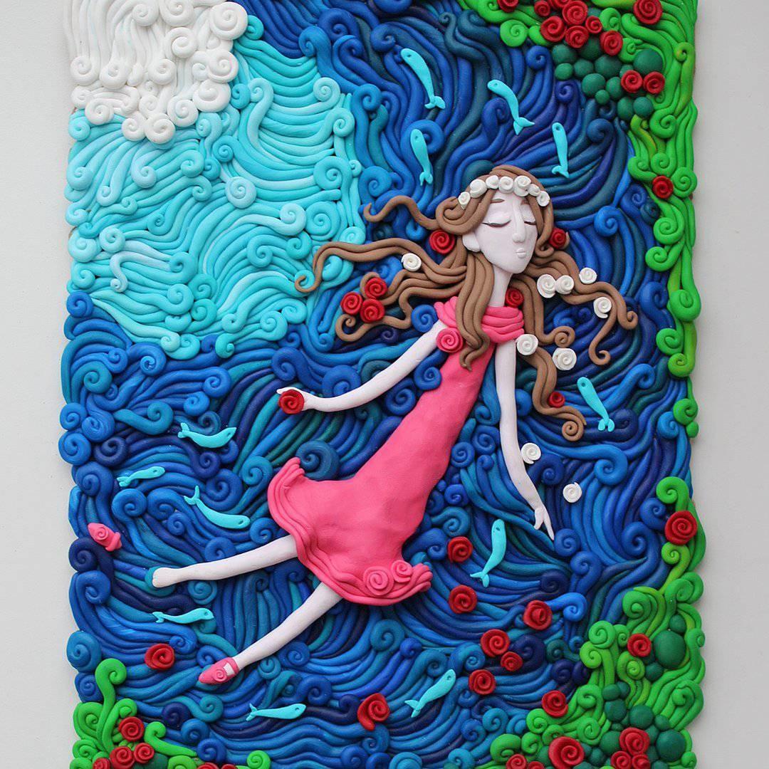 Картинки для иллюстраций из пластилина