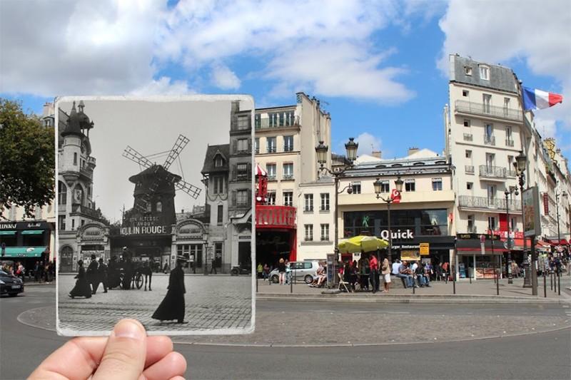 1900 г. Moulin Rouge париж, художник