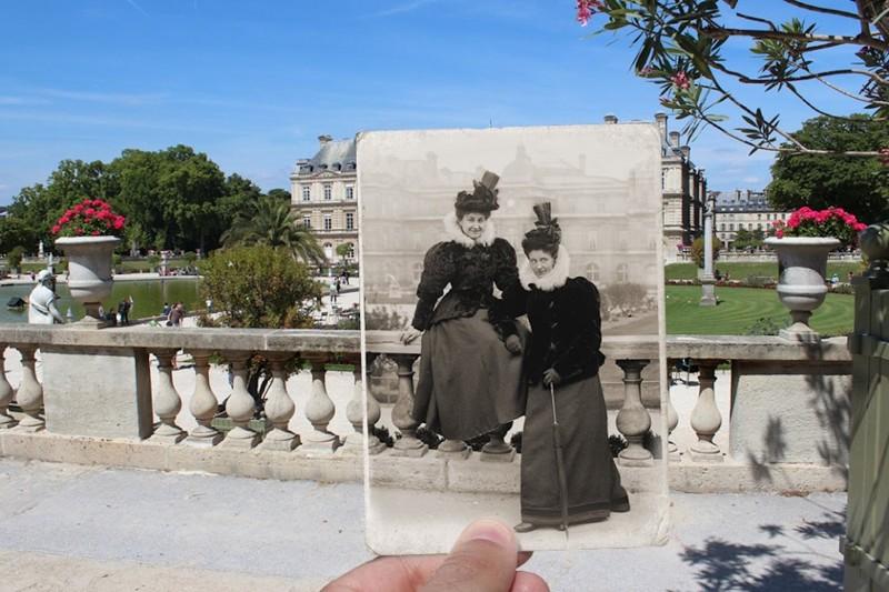 1895 г. Люксембургский сад париж, художник