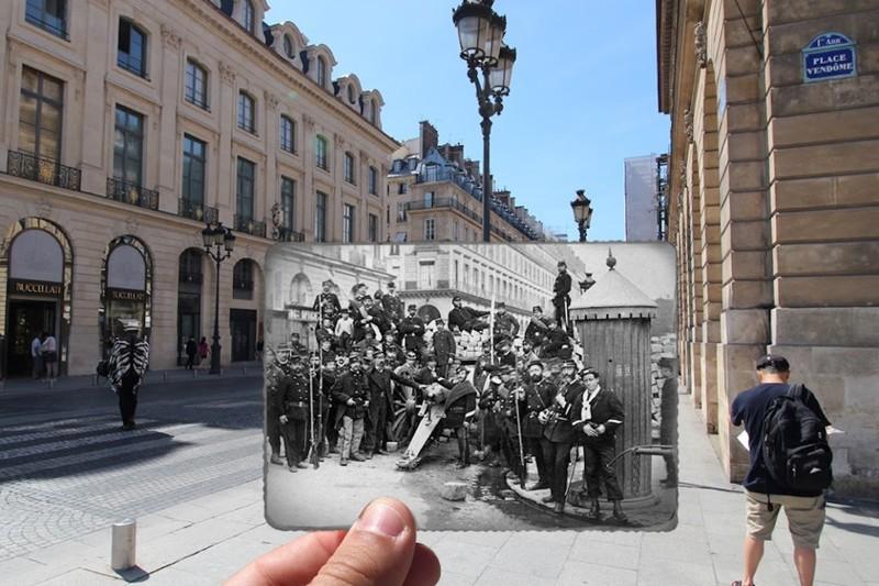 1871 год. Place Vendôme париж, художник