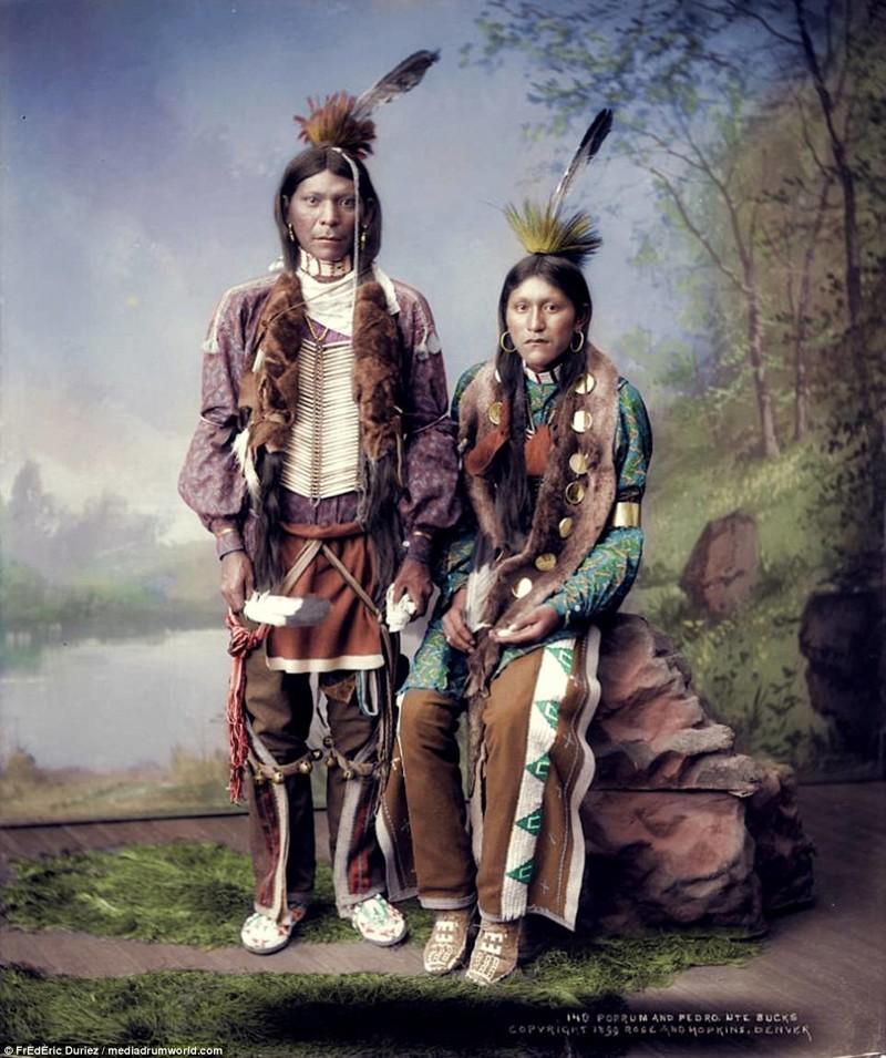 Индейцы в попу