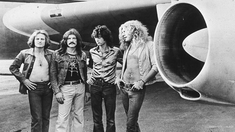 8. Led zeppelin история, музыка, рок