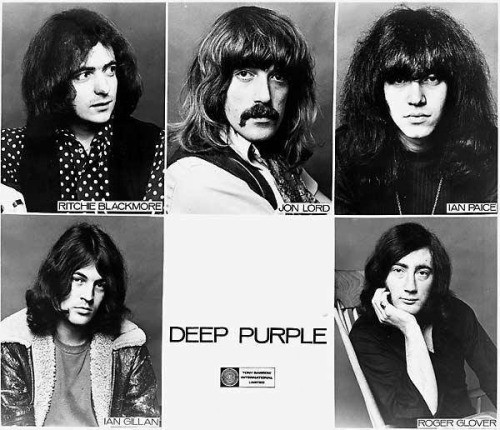 7. Deep purple история, музыка, рок