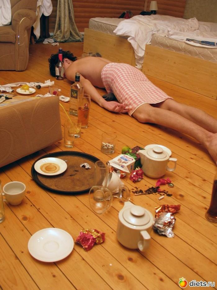 Утро после дня рождения картинки прикольные мужчине