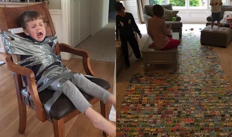 Как лучше привязывать к стулу