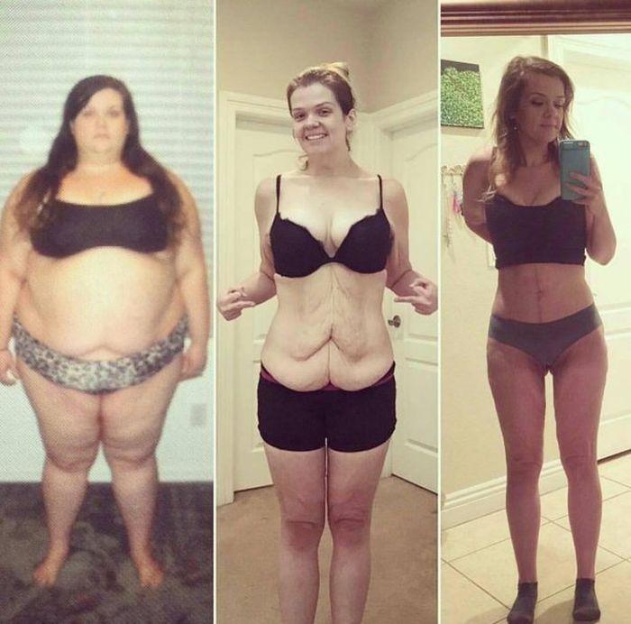 Как похудели результат фото