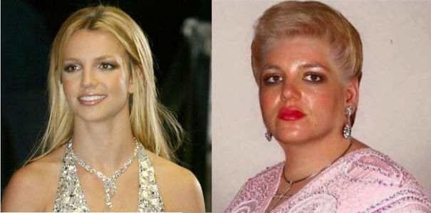 Бритни Спирс из Македонии в мире, двойники, знаменитость, люди
