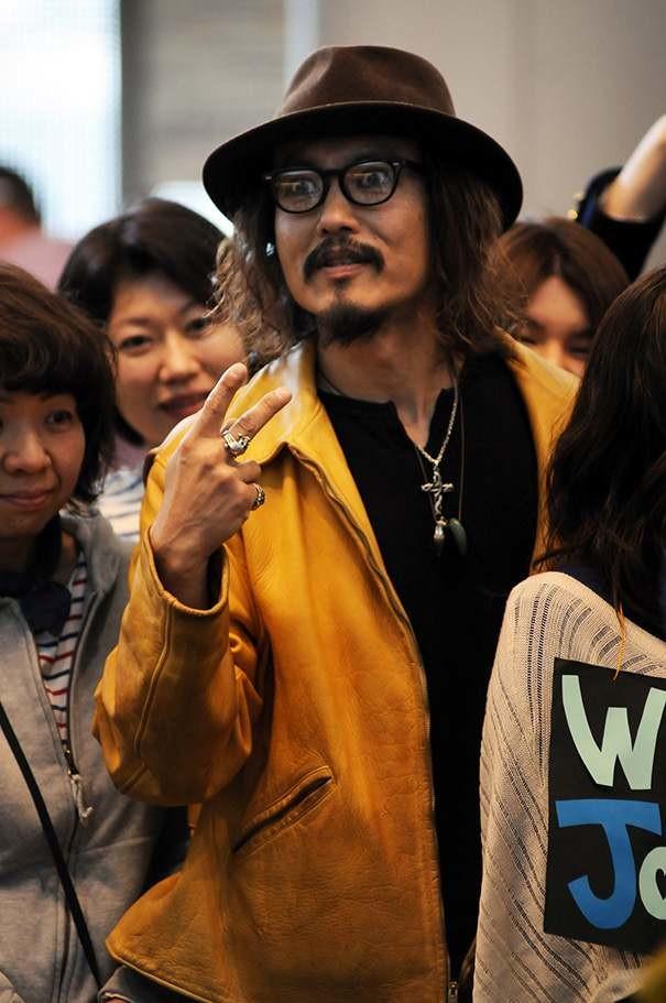 И еще японский Джонни Депп в мире, двойники, знаменитость, люди
