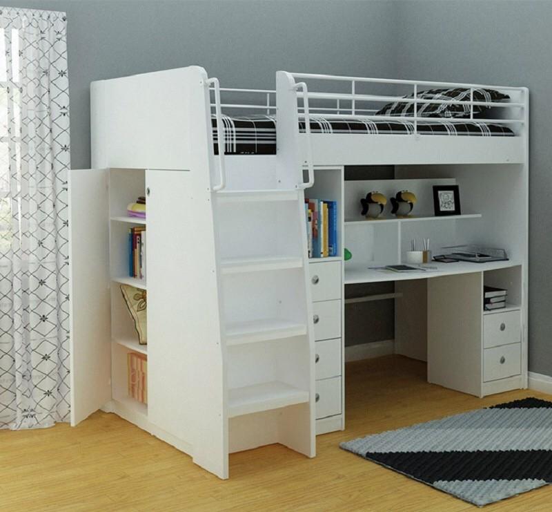 20 шикарных идей как двухъярусная кровать может сэкономить место в квартире двухъярусная кровать, дизайн, идеи, маленькая квартира