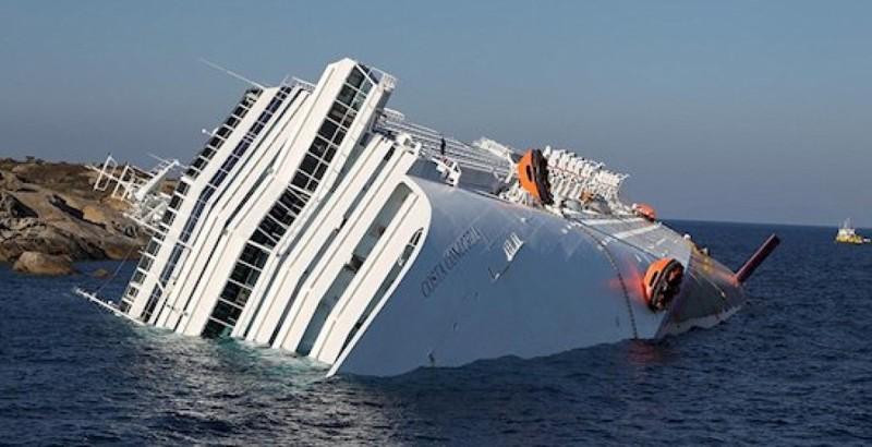 Уникальная операция по подъему затонувшего лайнера Коста Конкордия. Начало