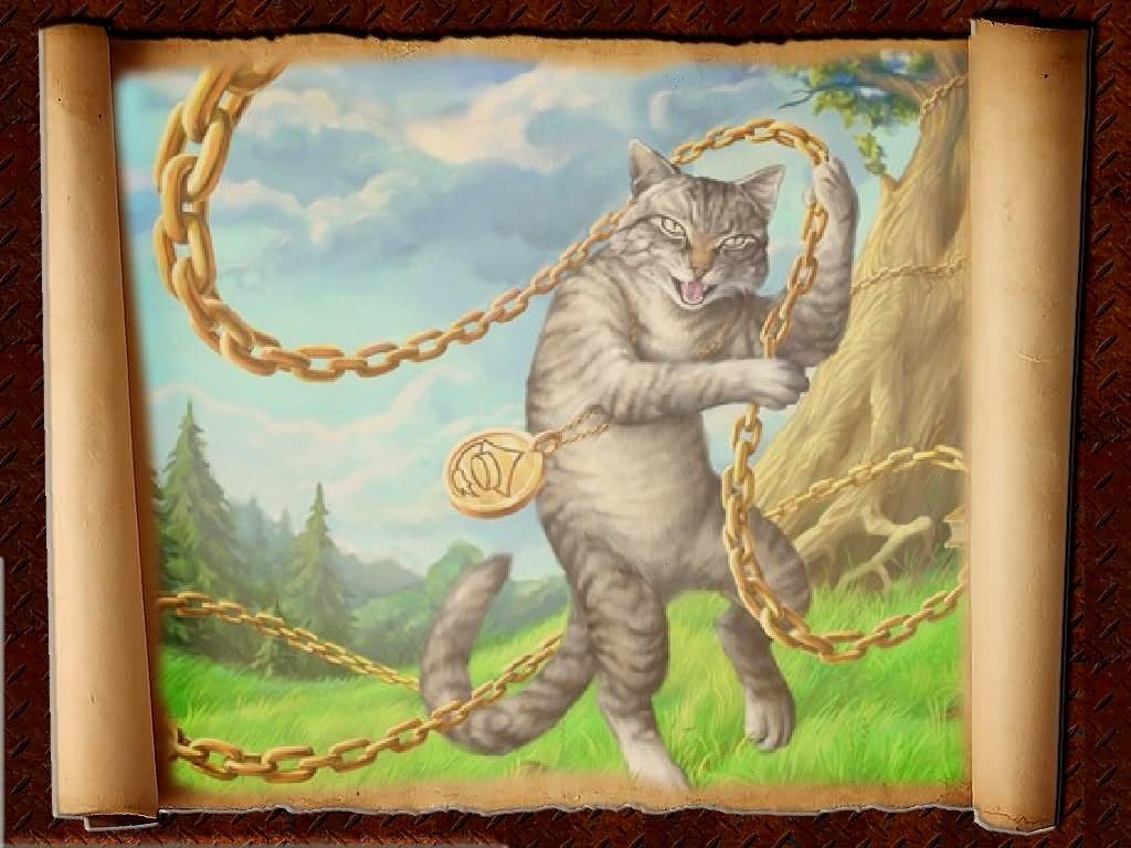 Картинки кота баюна
