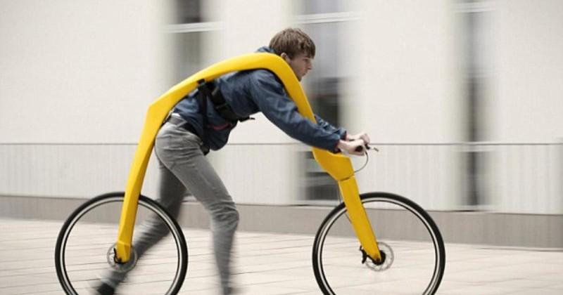 Велосипед без седла и педалей изобретатели, изобретения, наука, ученые