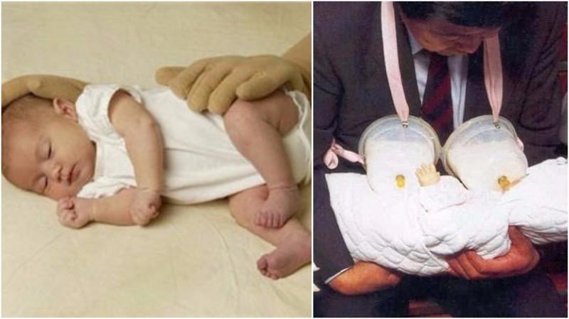 Детская подушка-рука и накладная грудь для мужчин изобретатели, изобретения, наука, ученые