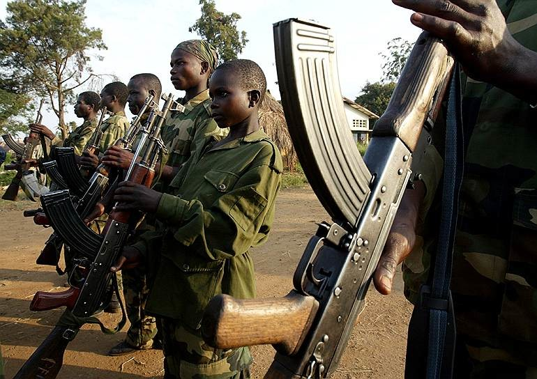 child soldiers Background this study was prompted by the psychiatric hospitalization of 12 former child soldiers of the lord's resistance army (lra) at a rehabilitation school in northern uganda with a case of mass psychotic behavior.