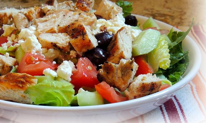 похудения для Быстрые рецепты салаты