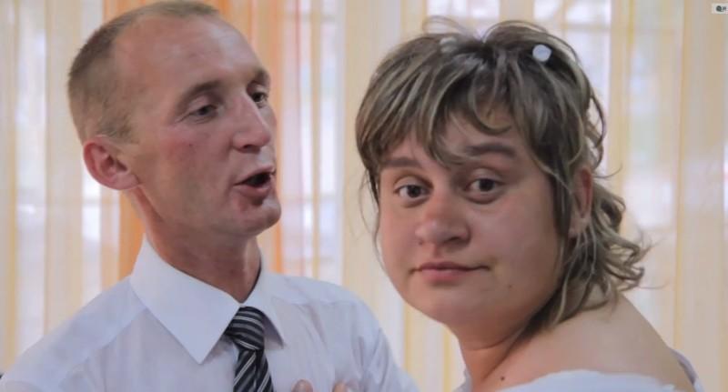 Страшные жених и невеста фото