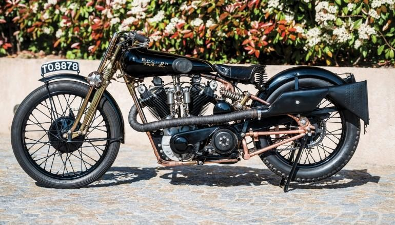 1928 Brough Superior SS100 «Моби Дик»