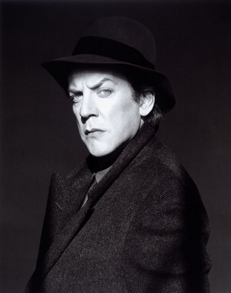Donald Sutherland by Robert Mapplethorpe