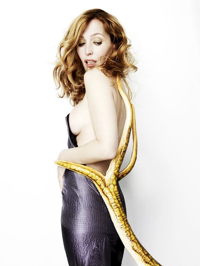 Gillian Anderson by Rankin celebrities, звезды, шоубизнес