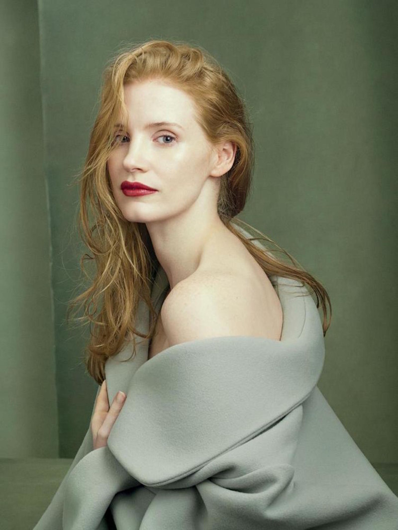 Jessica Chastain by Annie Leibovitz celebrities, звезды, шоубизнес