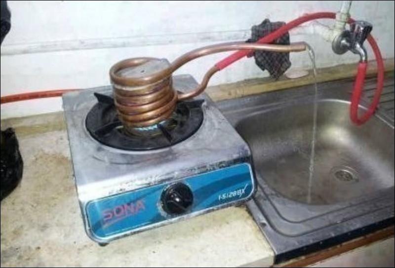 Способы добычи горячей воды горячая вода, отключили воду, прикол