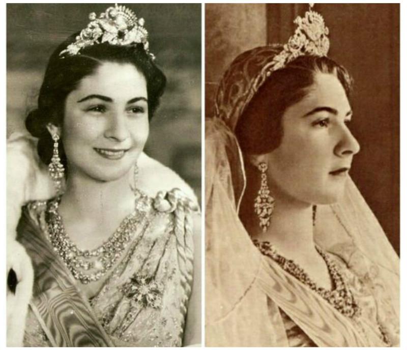 Королева Фарида из Египта, первая жена короля Фарука интересное, исторические фото, история, принцессы