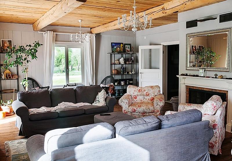 28 Чудесное превращение загородного дома | Роскошь и уют Фото
