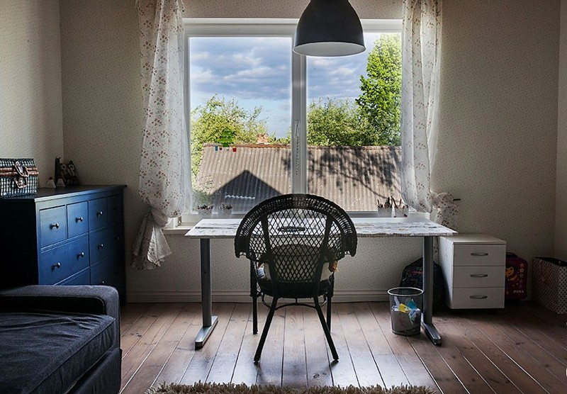 91 Чудесное превращение загородного дома | Роскошь и уют Фото