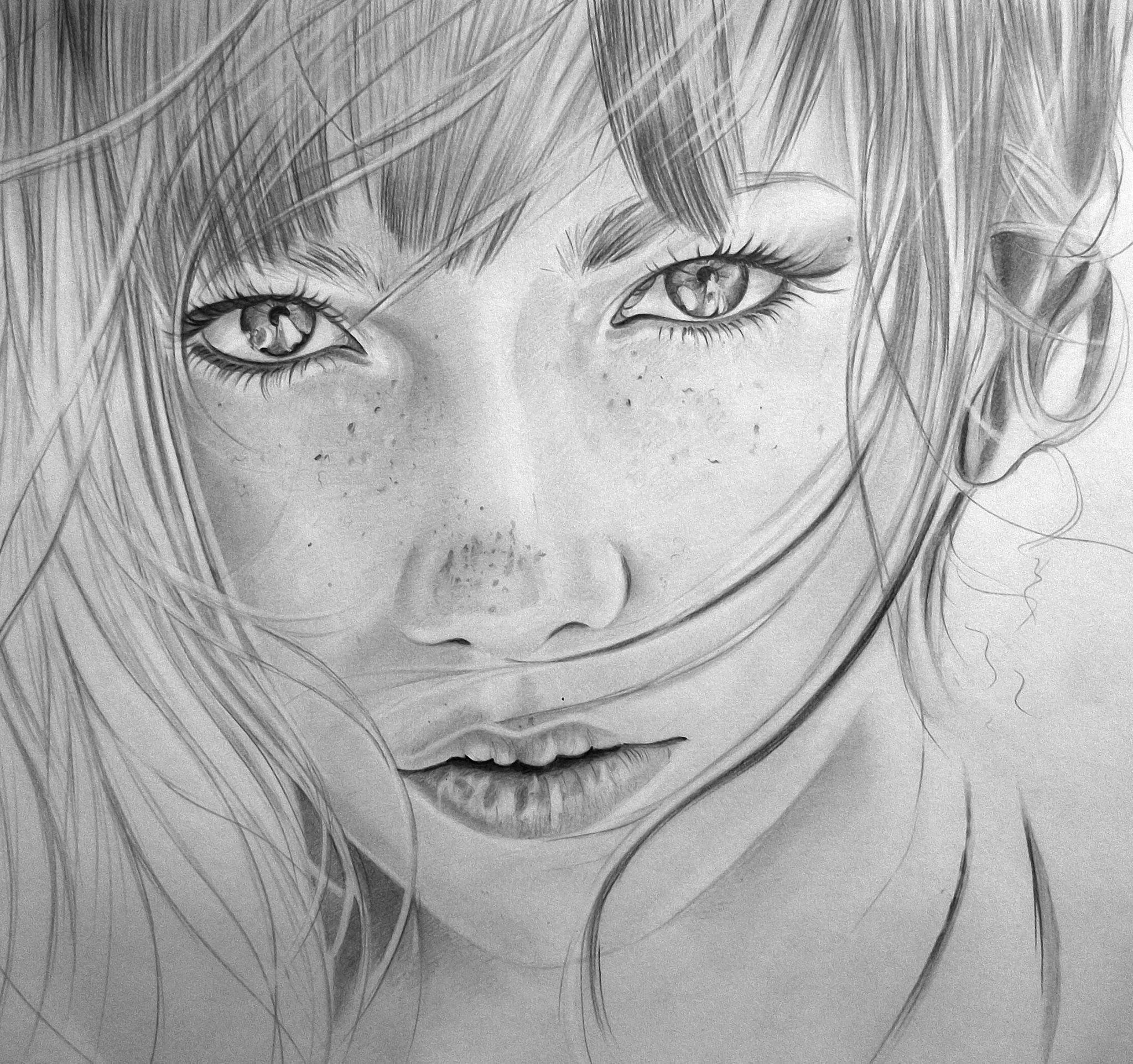 качественные рисунки карандашом