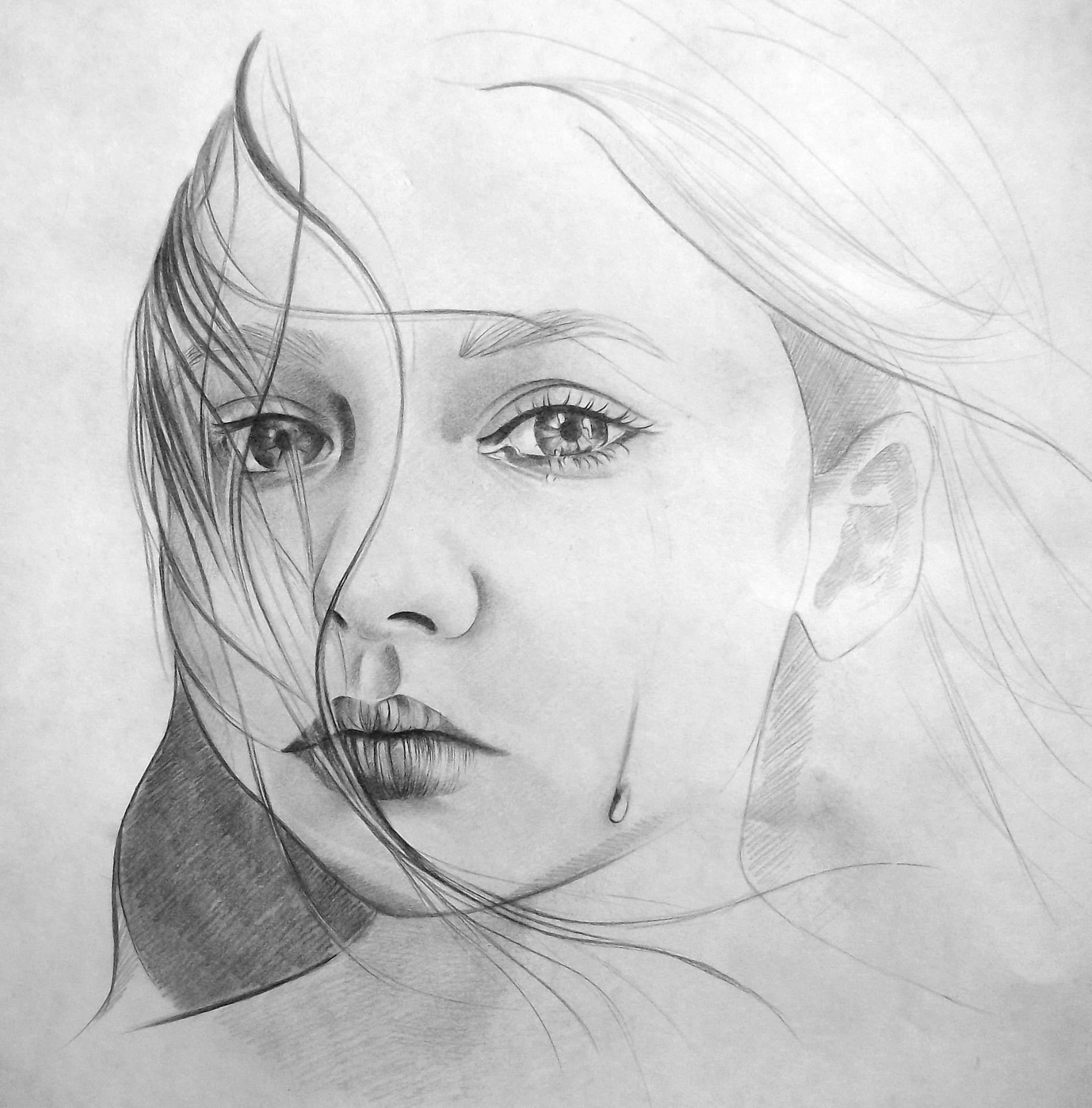 Нарисовать самые красивые картинки карандашом, зайка надписями