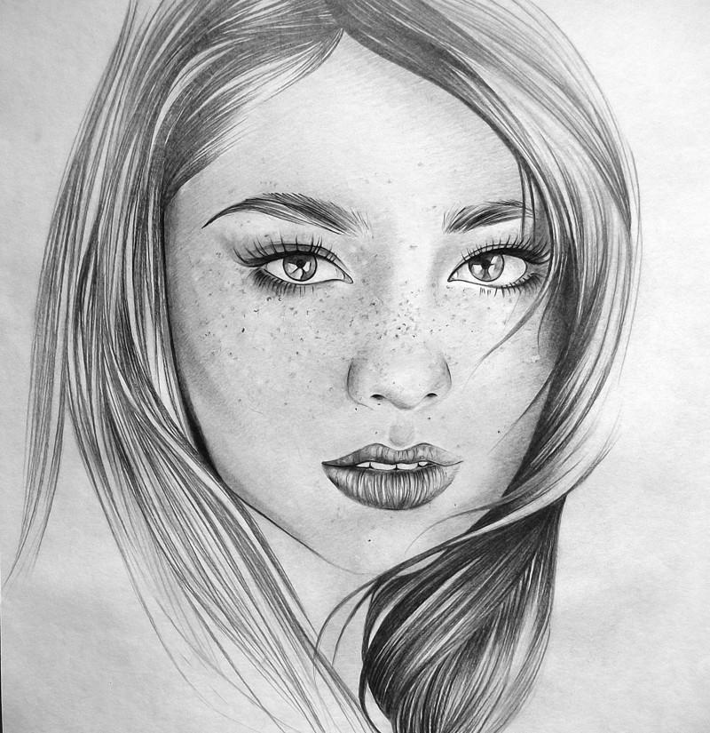 Простые рисованные картинки карандашом