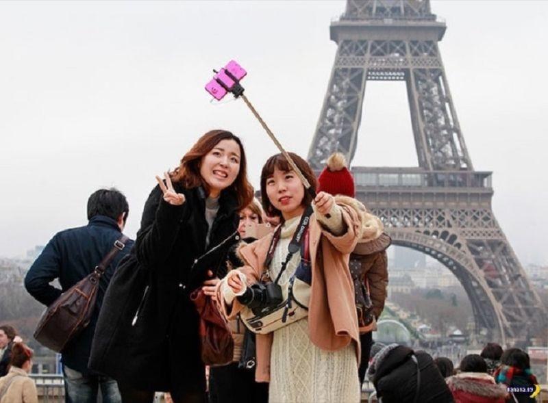 6. Париж не для японцев путешествия, топ 10 2017, топ-10, туризм, факты туризма