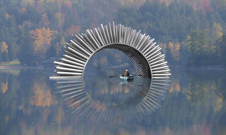 2. Арка — музыкальный инструмент, на котором играет ветер Прикольные фото, животные, чудеса